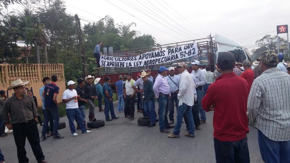 Los lugares afectados son: Zacapa, Izabal, Jutiapa, Chiquimula, El Progreso y Petén. (Foto: Tránsito PNC)