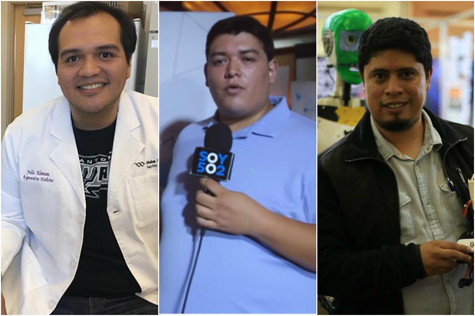 Los tres guatemaltecos fueron reconocidos por sus innovaciones en diferentes campos. (Foto: Archivo)