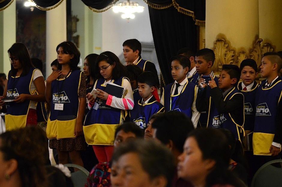 Futuros Periodistas, proyecto de Nuestro Diario, hizo una gran cobertura. (Foto: Selene Mejía/Soy502)