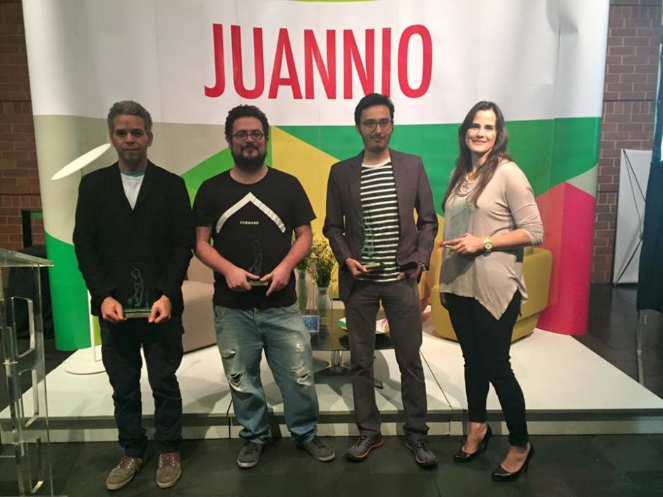Ellos son los ganadores del concurso de arte Juannio. (Foto: Juannio oficial)