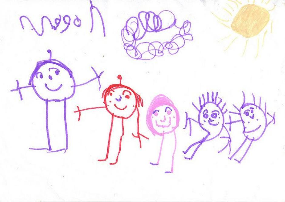 Los garabatos de los más pequeños dicen mucho de su personalidad y su estado de ánimo.