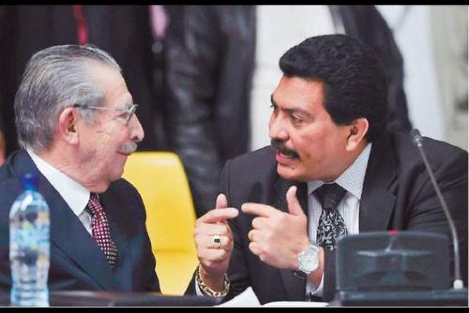 En el juicio por genocidio, defendió a Efraín Ríos Montt. (Foto: Archivo/Soy502)