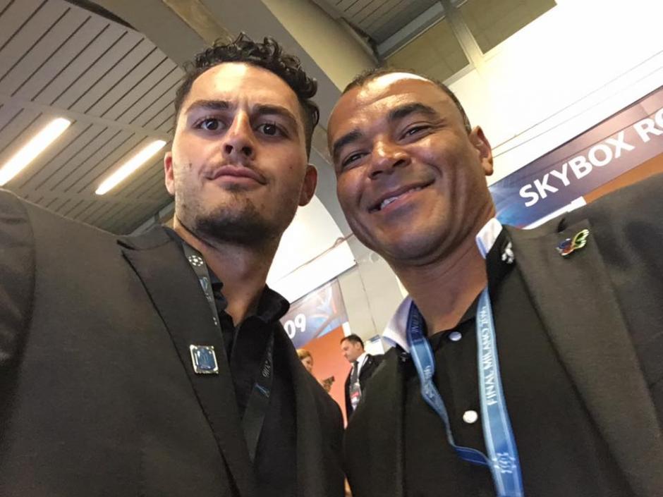 Esta no es la primera vez que el joven siciliano se cuela a un estadio. (Foto: Facebook/Gaspare Galasso)