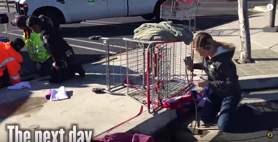 Las personas no dudaron en ayudar. (Foto: Youtube)