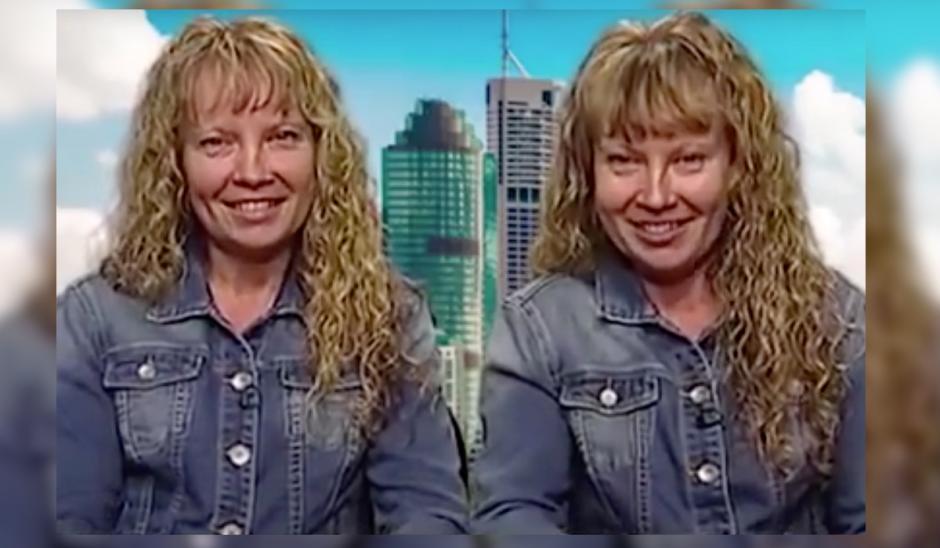 Las gemelas australianas sorprendieron a todas al hablar al unísono. (Imagen: Captura de pantalla)