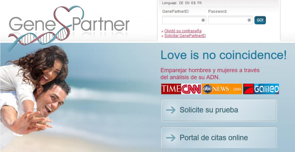 Este sitio busca a tu pareja genéticamente perfecta. (Foto: Gene Partner)