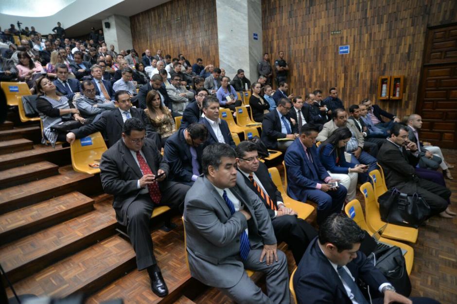 El Juez Gálvez decidió que 15 personas, del grupo de los financistas del PP, tuviera arresto domiciliario. (Foto: Wilder López/Soy502)