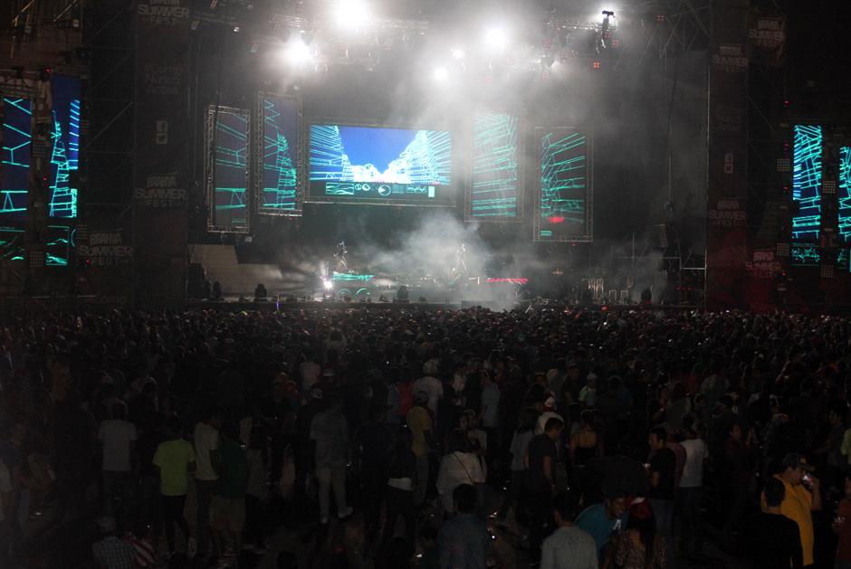 El público se deleitó y vivió al máximo en el Summer Music Fest.(Foto: Luis Barrios/Soy502)