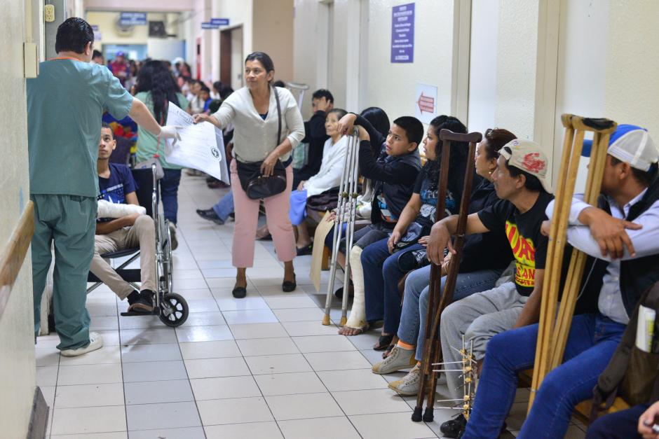 Durante 21 días el hospital Roosevelt cerró parcialmente la consulta de pediatría, maternidad y la general. (Foto: Wilder Lopéz/Soy502)