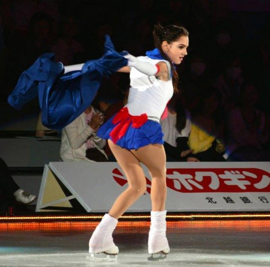Medvedeva se ganó el corazón de muchos de los asistentes. (Foto: gentokyo.moe)