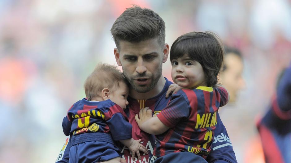 La familia Piqué Mebarak comparte el gusto por la música y el fútbol. (Foto: Telemundo)