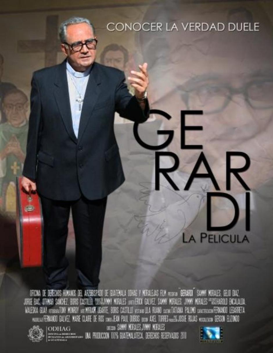 Para la película de Monseñor Gerardi se les pagó Q365 mil de acuerdo con lo registrado en Guatecompras.