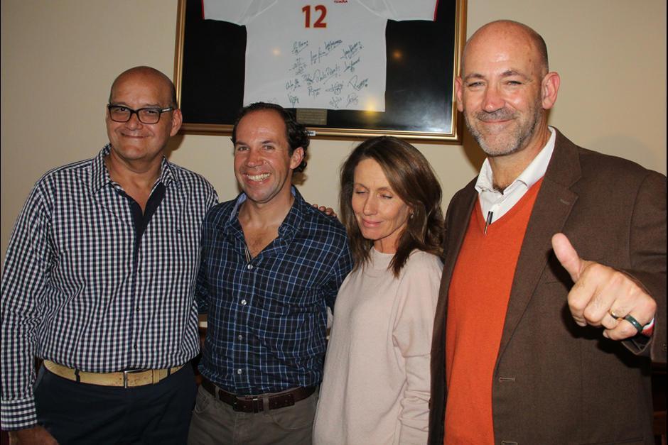 Los dirigentes del COG recibieron camisas valoradas en Q205 previo a su viaje a Rio de Janeiro. (Foto: Archivo/Soy502)