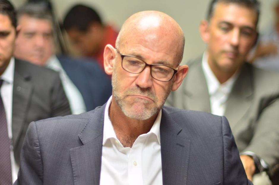 El Presidente del COG se molestó al ser cuestionado. (Foto: Jesús Alfonso/Soy502)
