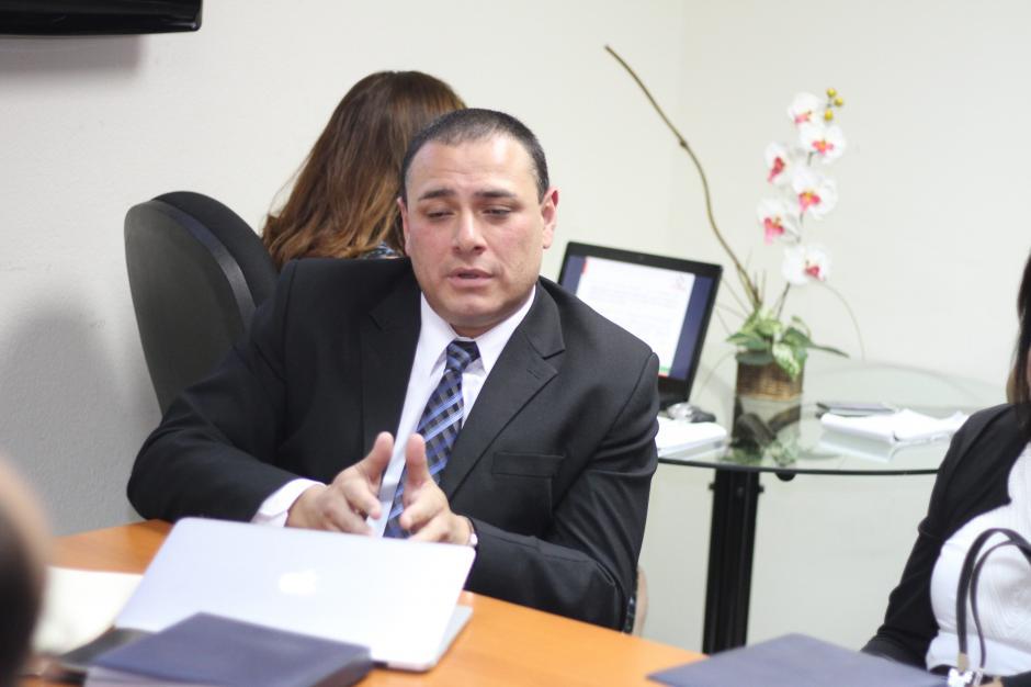 El Gerente del Comité Olímpico Guatemalteco, Gerardo Estrada, representó al presidente, Gerardo Aguirre, durante la reunión. (Foto: Luis Barrios/Soy502)