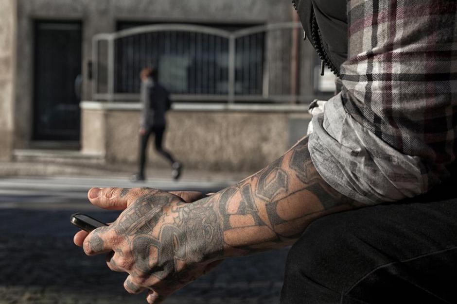 Los pandilleros con tatuajes parece que pronto desaparecerán. (Foto: Twitter)