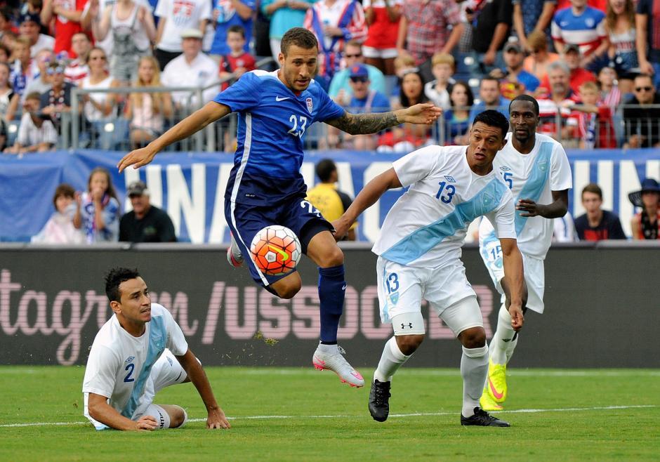 Estados Unidos pasó por encima de Guatemala con un 4-0 en un amistoso celebrado en Nashville