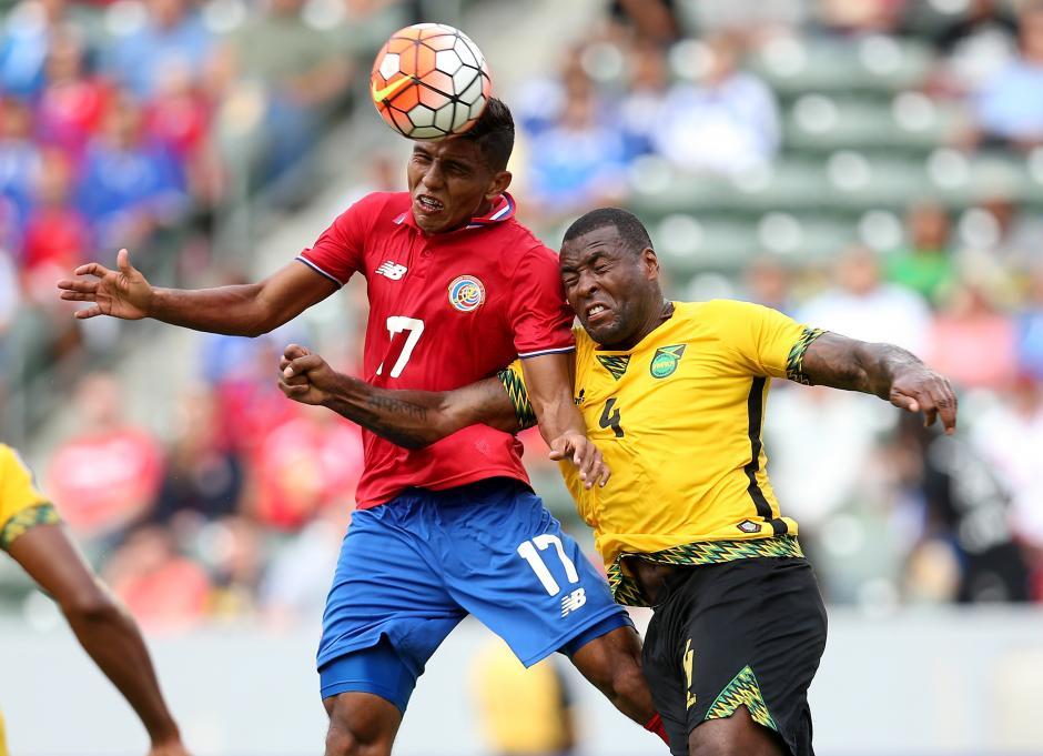 Costa Rica y Jamaica Copa oro foto