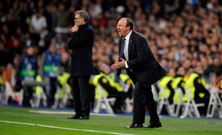 El tecnico Benítez, sigue con mucha presión de parte de la afición y los medios en Madrid. (Foto: Getty)