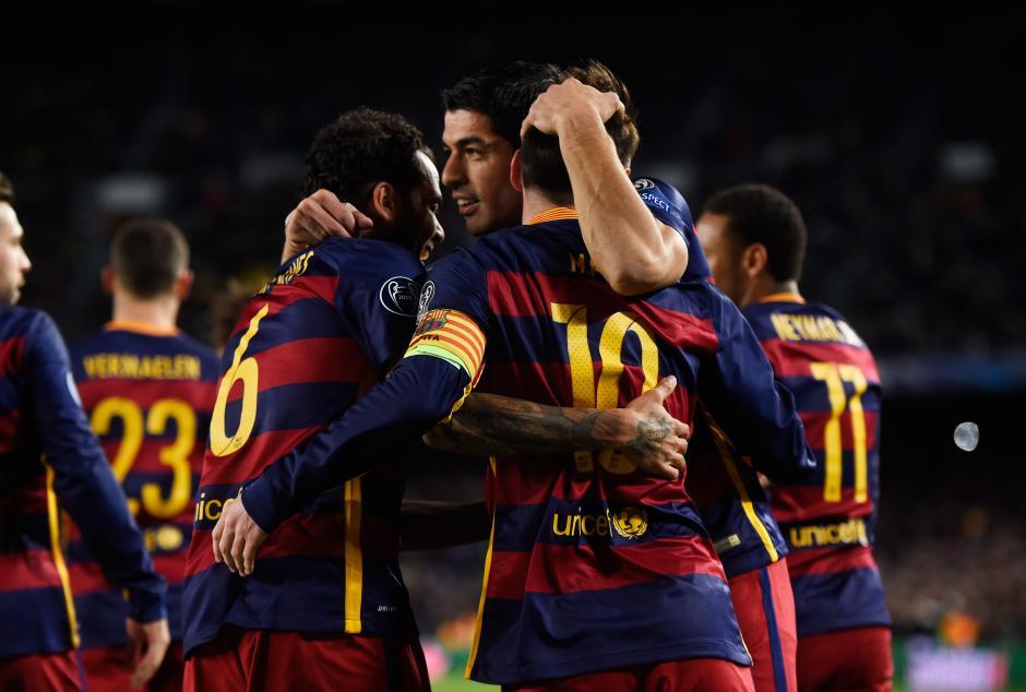 El FC Barcelona fue inmensamente superior a la Roma. (Foto: Getty)