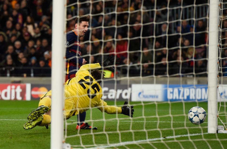 Lio Messi volvió y el FC Barcelona no tuvo piedad de la Roma. (Foto: Getty)