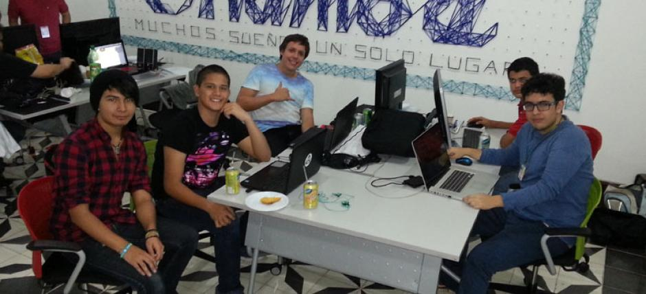 El Global Game Jam se realiza en Chamba Coworking, en cuatro grados norte, zona 4. (Foto:Game Dev GT)