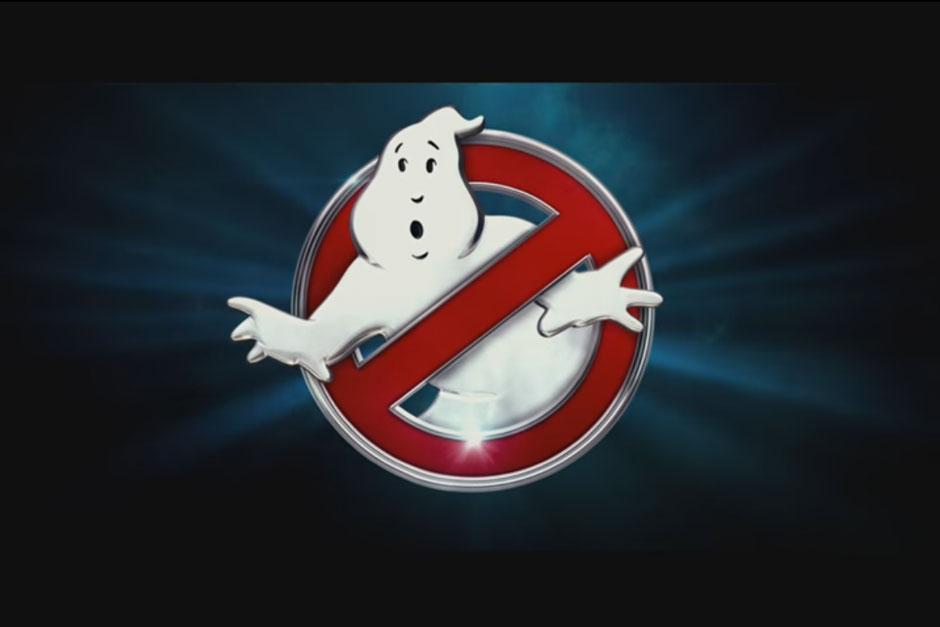 El logo de los cazafantasmas. (Captura de pantalla: Sony Pictures Entertainment/YouTube)