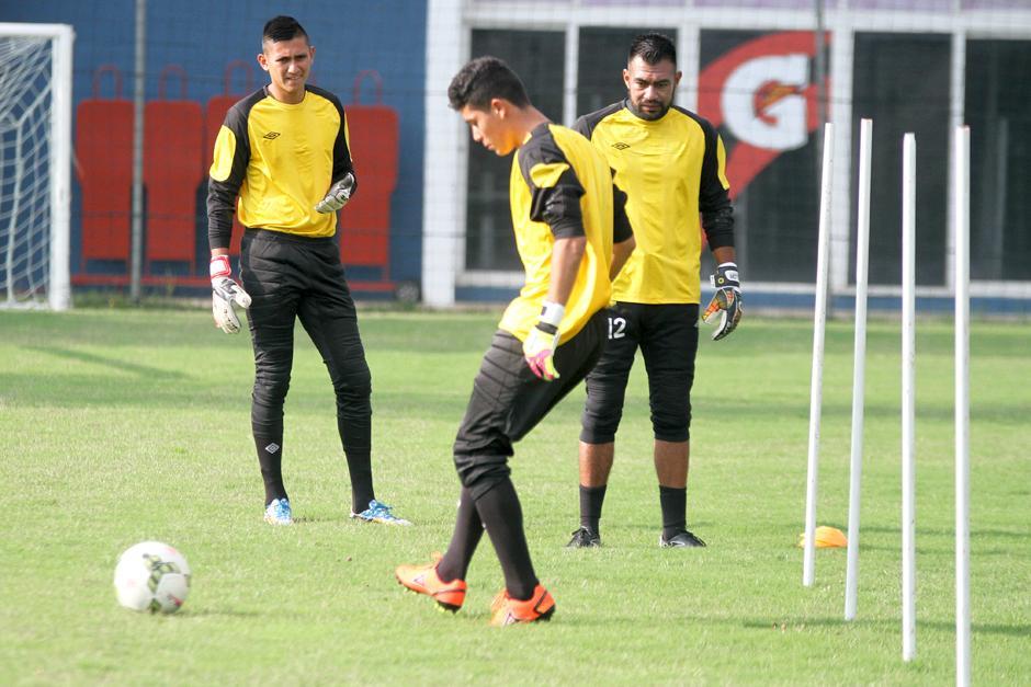 Gilder Lemus en su primer día de entrenamiento con la Selección mayor. (Foto: Luis Barrios/Soy502)