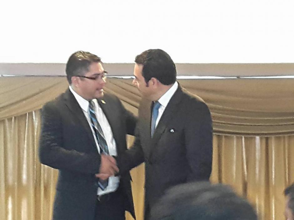 Sánchez y Morales son amigos desde hace más de 20 años. (Foto: Archivo/Soy502)