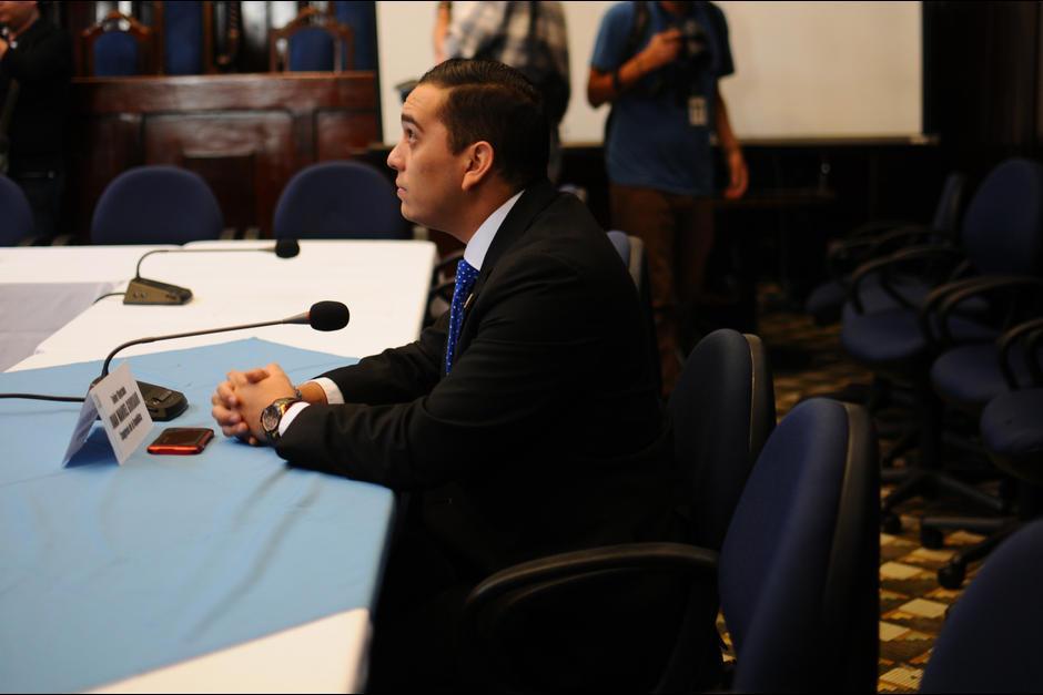 El diputado Manuel Giordano tiene un antejuicio en su contra por tráfico de influencias, abuso de autoridad y discriminación contra la gobernadora de Alta Verapaz. (Foto: Archivo/Soy502)
