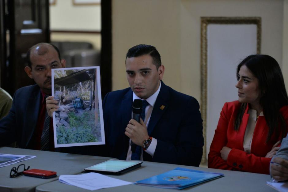 Juan Manuel Giordano es presidente de la Comisión de la Juventud. (Foto: Wilder López/Soy502)