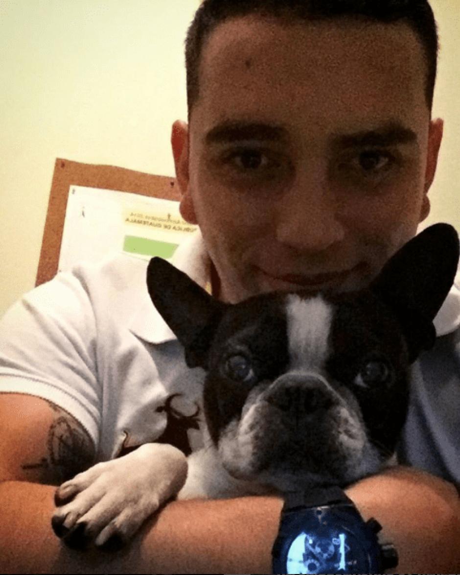 La relación cercana entre Giordano y su mascota se evidencia en las redes sociales. (Foto: @giordanogt/Instagram)