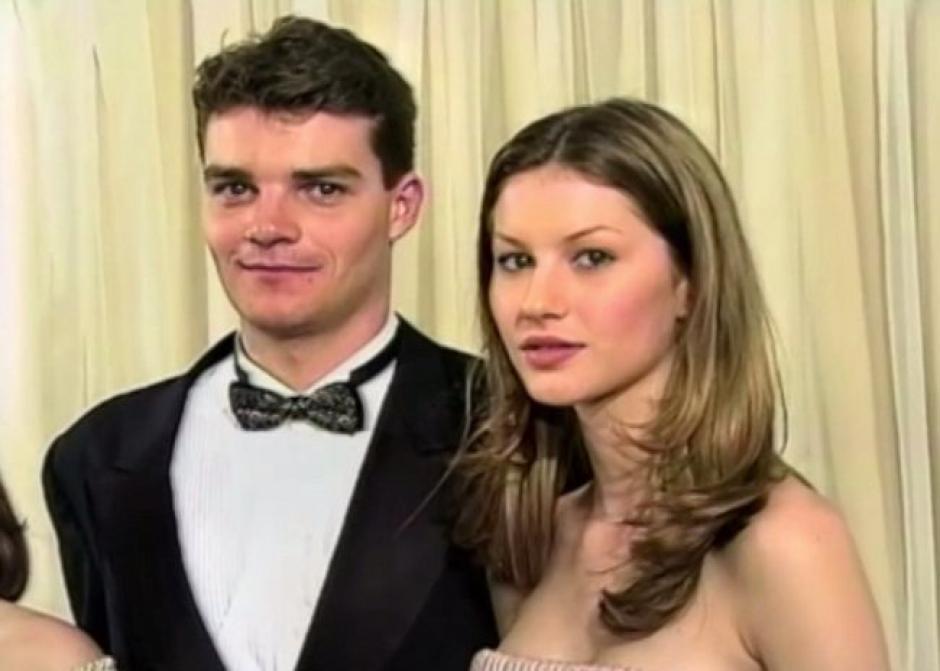El chico que la acompañó en aquella celebración tenía un parecido a su actual esposo, Tom Brady. (Foto: Daily Mail)