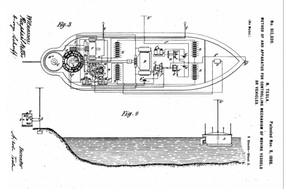 La patente de este invento fue descubierta por el ingeniero Matthew Schroyer. (Foto: gizmodo.com)