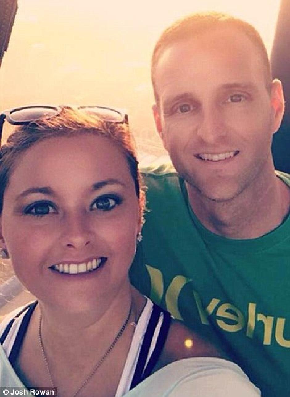 Los esposos Matt y Sunday Rowan subieron esta imagen a Instagram previo al accidente. (Foto: lopezdoriga.com)