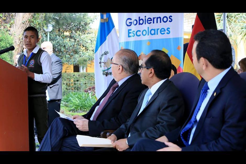 El lanzamiento tuvo lugar en las instalaciones del Ministerio de Educación. (Foto: Mineduc)