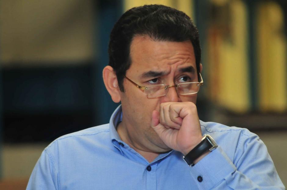 De pronto, alguien lo intentó abrazar y Morales se quejó de la operación. (Foto: Archivo/Soy502)