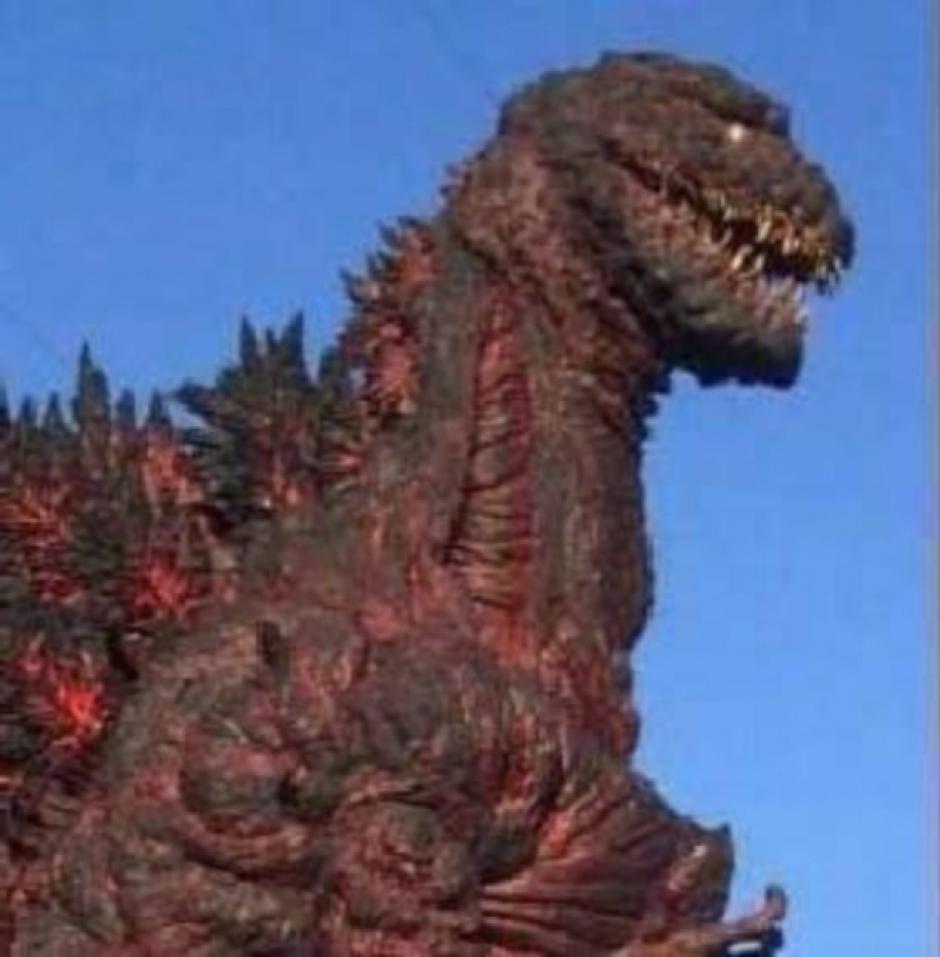 Así podría lucir el nuevo Godzilla. (Foto:lashorasperdidas)
