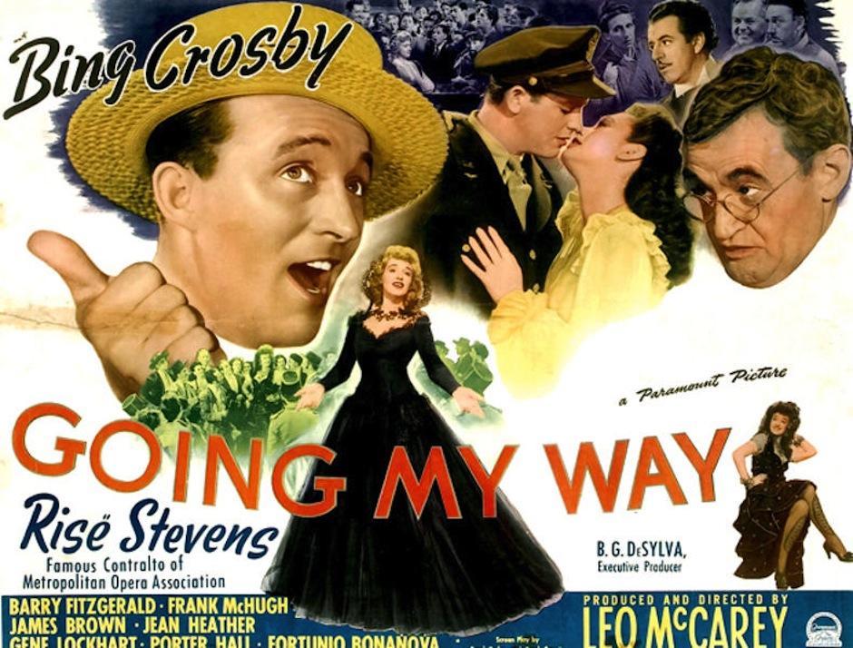 """""""Going my way"""" es la primera película ganadora de un Golden Bloge Award en 1946. (Foto: Diuxclasico)"""
