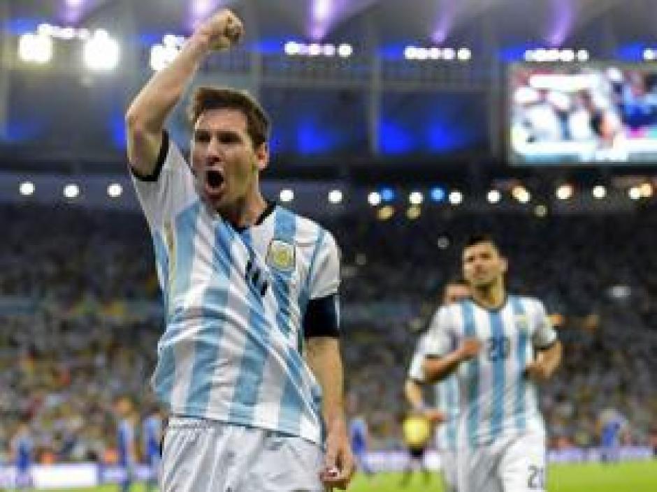 Messi ha marcado goles importantes con Argentina. (Foto: Twitter)