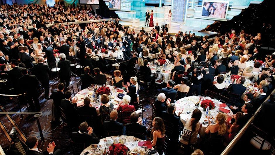 La comida se retira de las mesas a las 5 de la tarde para evitar ruidos de cubiertos durante la transmisión en vivo. (Foto: HollywoodReporter)