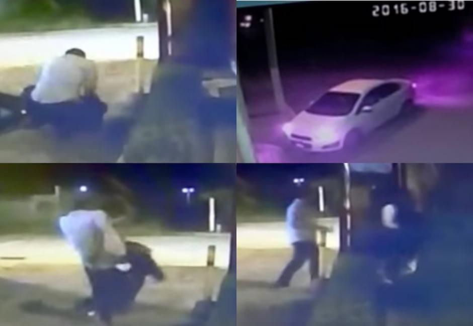 El agresor tiene historial violento. (Foto: captura de pantalla/YouTube)
