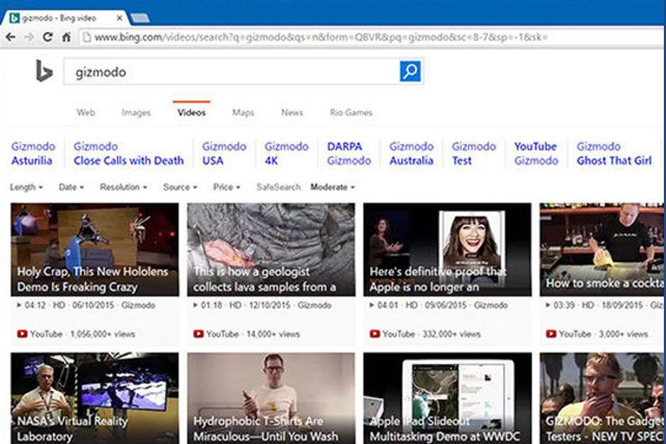 Bing es un de los más populares después de Google. (Foto: Archivo)