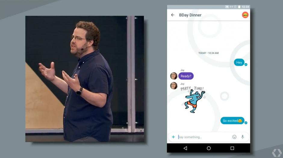 Hoy dio inicio la Keynote de Google I/O 2016. (Captura pantalla de Google)