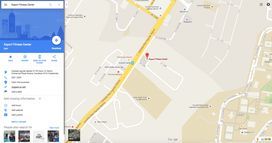 """Lo primero que debes hacer es seleccionar """"sugerir cambio"""". (Foto: Google Maps)"""