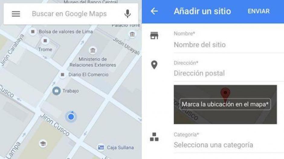 Ahora Google Maps le permite a todos sus usuarios hacer modificaciones. (Foto: Google Maps)