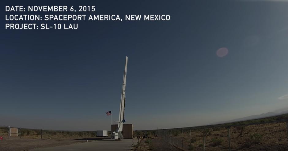 Las cámaras fueron instaladas en un cohete. (Captura de pantalla: YouTube/GoPro )