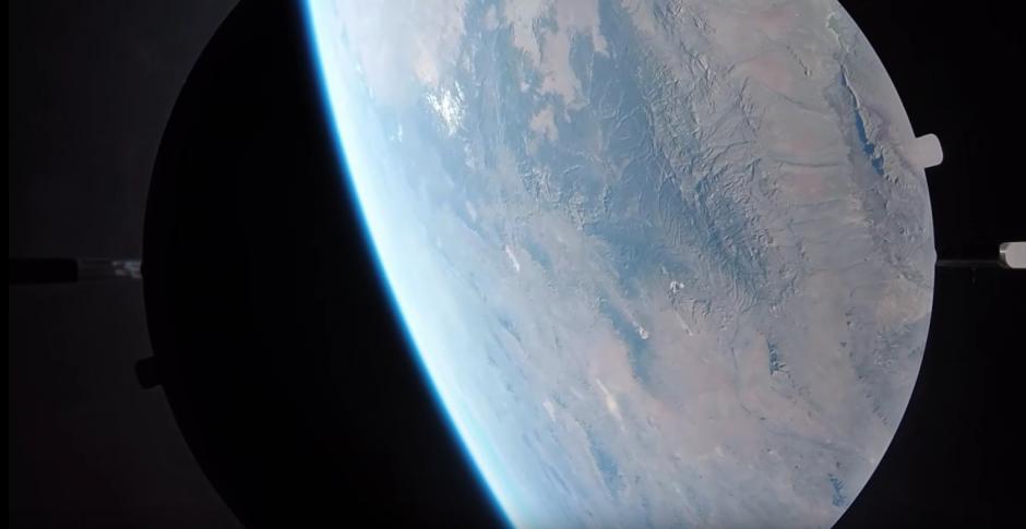 Las cámaras captaron bellas imágenes del espacio. (Captura de pantalla: YouTube/GoPro )