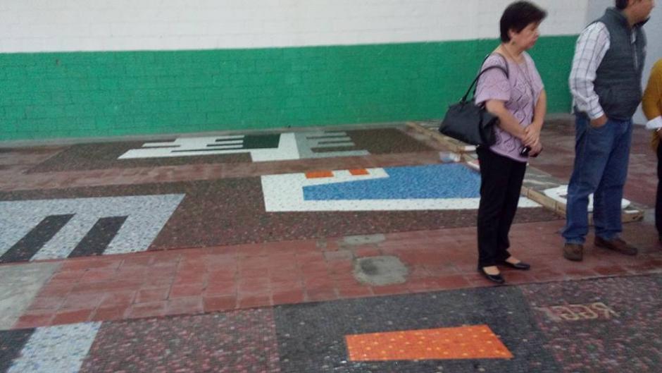Los murales fueron restaurados por separado. (Foto: Roberto González Goyri oficial)