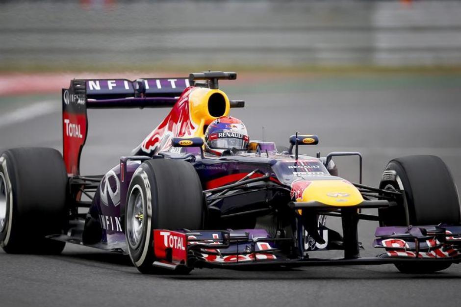 Sebastian Vettel, del equipo Red Bull, logró una nueva victoria, esta vez en el Gran Premio de Corea.